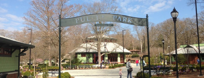 Pullen Park is one of Summer Vacation Raleigh NC.