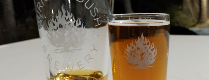 Burning Bush Brewery is one of parents.