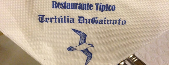 Restaurante Típico Tertúlia DuGaivoto is one of Locais salvos de Jo.