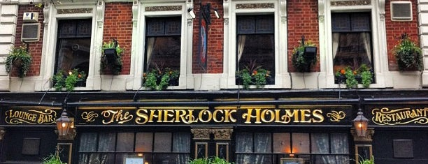 The Sherlock Holmes is one of London.