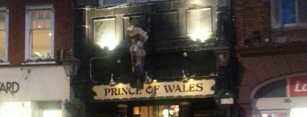 Prince Of Wales is one of Bars.