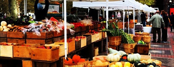 Copley Square Farmer's Market is one of #BeRevered: Best of Back Bay.