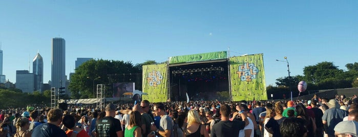 Sprint Stage - Lollapalooza 2015 is one of Locais salvos de Andrew.