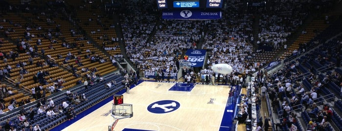 Marriott Center is one of NCAA Division I Basketball Arenas Part Deaux.