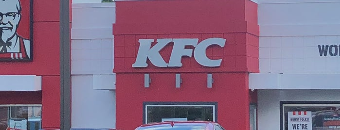 KFC is one of Lugares favoritos de Jason.
