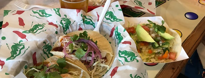 Guerra's Krazy Taco is one of Springfield.