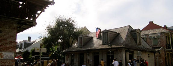 City of New Orleans is one of The Greatest Outdoor Bars in America.