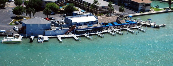 Snook Inn -- Waterside Dining is one of The Greatest Outdoor Bars in America.