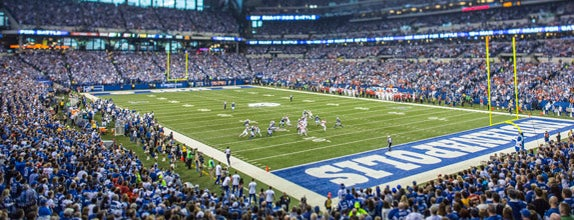 Lucas Oil Stadium is one of 10 Best NFL Stadiums in America.