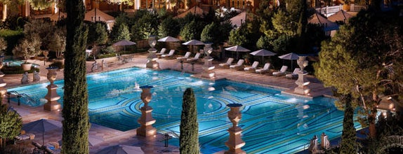 Bellagio Hotel & Casino is one of The Greatest Outdoor Bars in America.