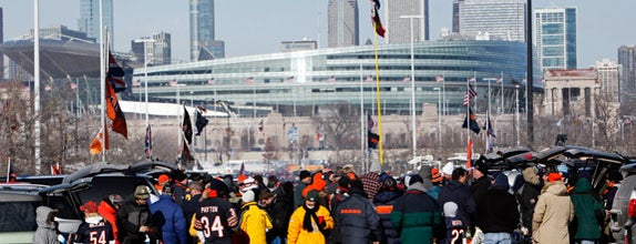 Soldier Field is one of 10 Best NFL Stadiums in America.