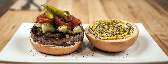 Umami Burger is one of 8 of the Weirdest Cheeseburgers You've Ever Seen.