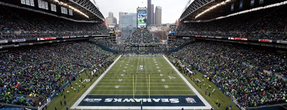CenturyLink Field is one of 10 Best NFL Stadiums in America.