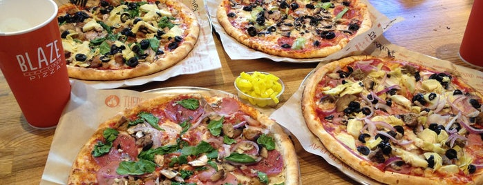 Blaze Pizza is one of Favorites.