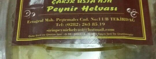 Şirin Peynir Helvası is one of Bakılacak mekanlar.