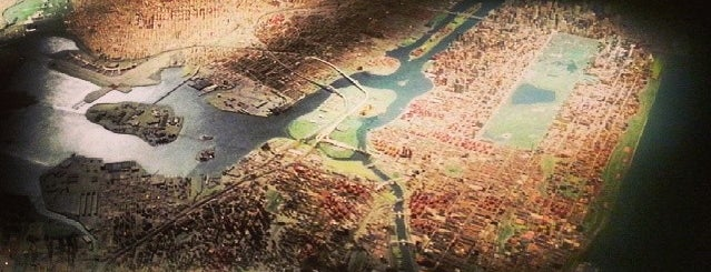 Panorama of the City of New York is one of Things To Do in Queens, NY.