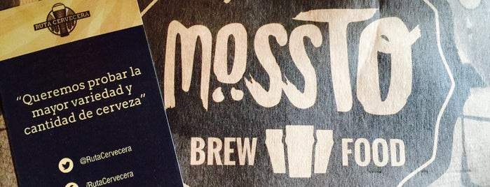 Mossto Brewfood is one of Lugares guardados de Cynthia.