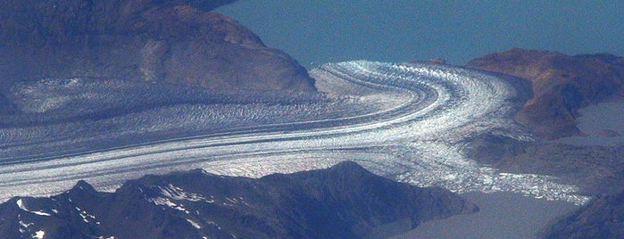 Glaciar Viedma is one of Patagonia (AR).