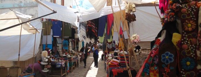 Mercado Abierto de Pisac is one of Perú.