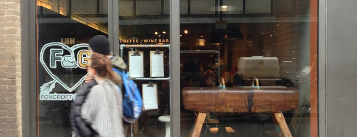 Foxcroft & Ginger is one of Great Independent Coffee Shops in London.