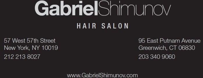 Gabriel Shimunov Hair Salon is one of Manhattan.
