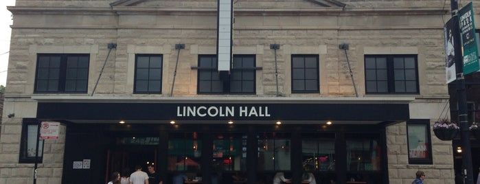 Lincoln Hall is one of concert venues 1 live music.