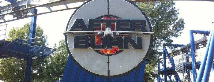 Afterburn is one of Lieux qui ont plu à Bethany.