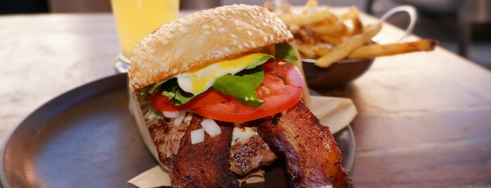 Roam Artisan Burgers is one of Culinary Destinations.