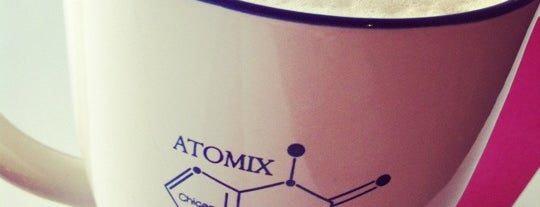 Atomix is one of Favorite Cafes.