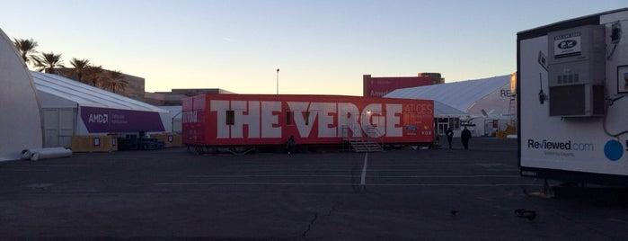 The Verge CES HQ is one of CES 2014.