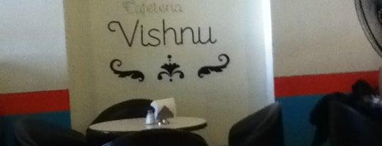 Cafetería Vishnu is one of lugar.