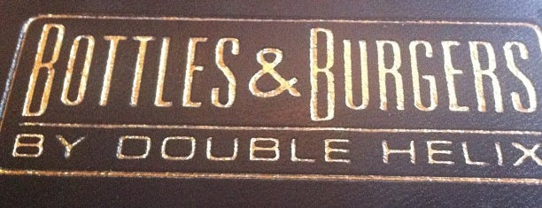 Bottles & Burgers By Double Helix is one of Mixology Bars of Las Vegas.