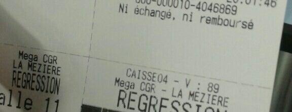 Mega CGR is one of Orange Cinéday.