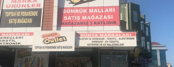 Gumruk outlet is one of สถานที่ที่ 1sen ถูกใจ.