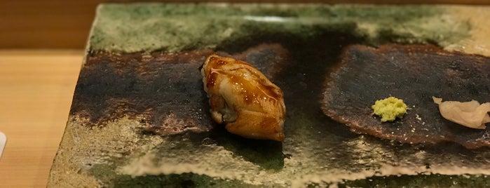 Ginza Iwa is one of Tokyo Sushi.