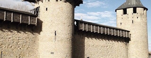 Cité de Carcassonne is one of Châteaux de France.