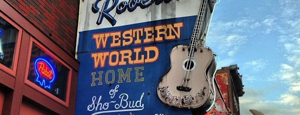 Robert's Western World is one of Best Nashville bars.