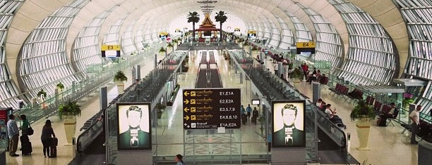 Aeroporto Suvarnabhumi (BKK) is one of Part 1~International Airports....