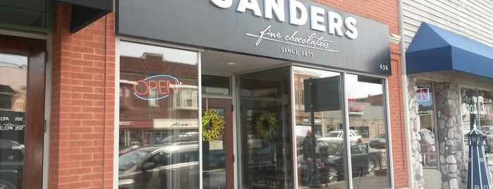 Sanders Chocolate & Ice Cream Shoppes is one of Where in the World (to Dine, Part 4).