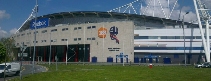 University of Bolton Stadium is one of Soccer Stadiums.