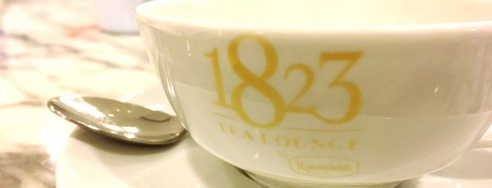 1823 Tea Lounge by Ronnefeldt is one of Rob & Bec Visit Bangkok.