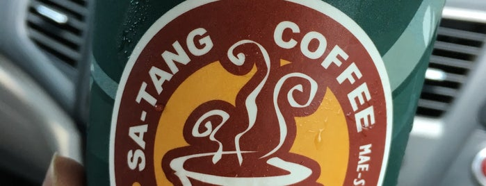Stang coffee@esso is one of Thailand/Myanmar.