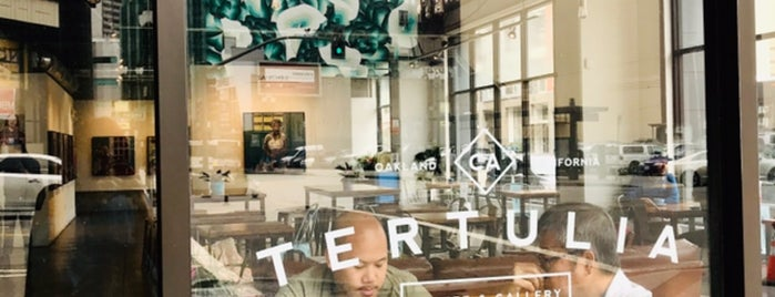 Tertulia is one of Town Coffices.
