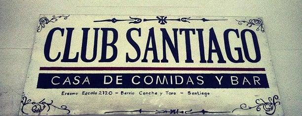 Club Santiago is one of Bar.