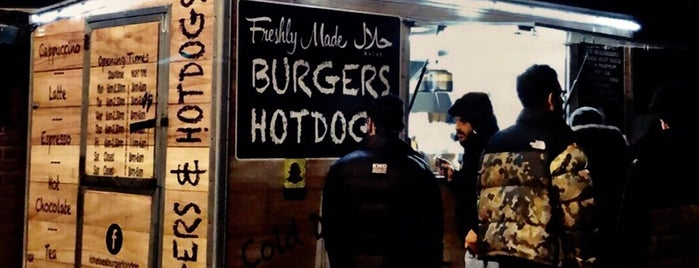 Chelsea Bridge Burger is one of London.