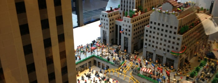 The LEGO Store is one of NY.
