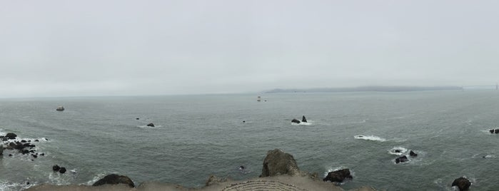 Mile Rock Beach is one of San Francisco.