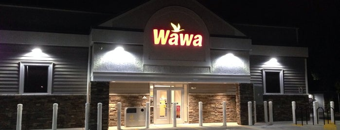Wawa is one of Lieux qui ont plu à Jason.