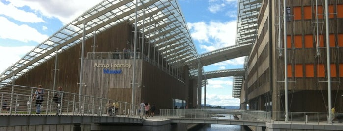 Astrup Fearnley Museet is one of Oslo // Norway.