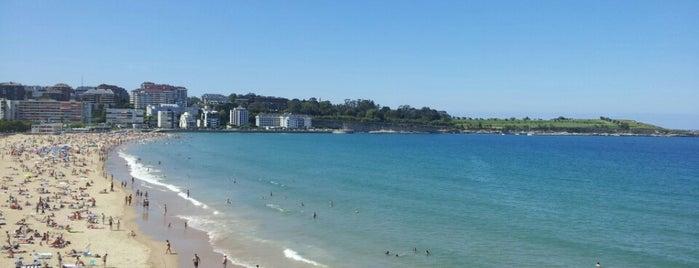 Segunda Playa del Sardinero is one of Playas de España: Cantabria.